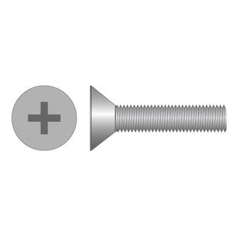 Machine Screws CSK Phillips Stainless Steel