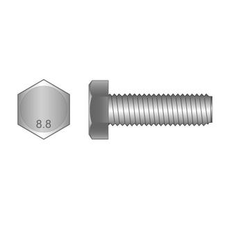 Set Screws 8.8 MF Zinc